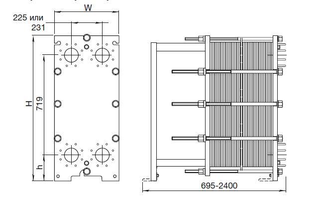Уплотнения теплообменника Alfa Laval M10-BDFG Артём Пластины теплообменника Анвитэк AX 40 Анжеро-Судженск