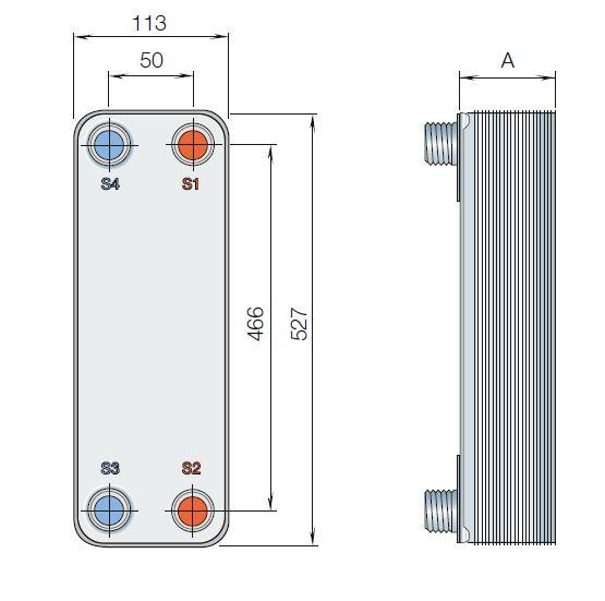 Пластинчатый теплообменник Tranter GC-026 N Кисловодск